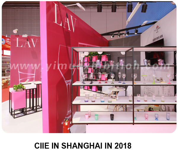 CIIE booth design and construction