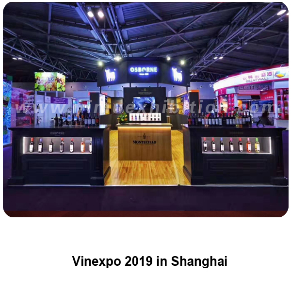Vinexpo shanghai booth construction