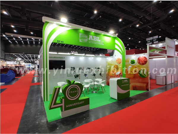 Propak Asia booth design Thailand show