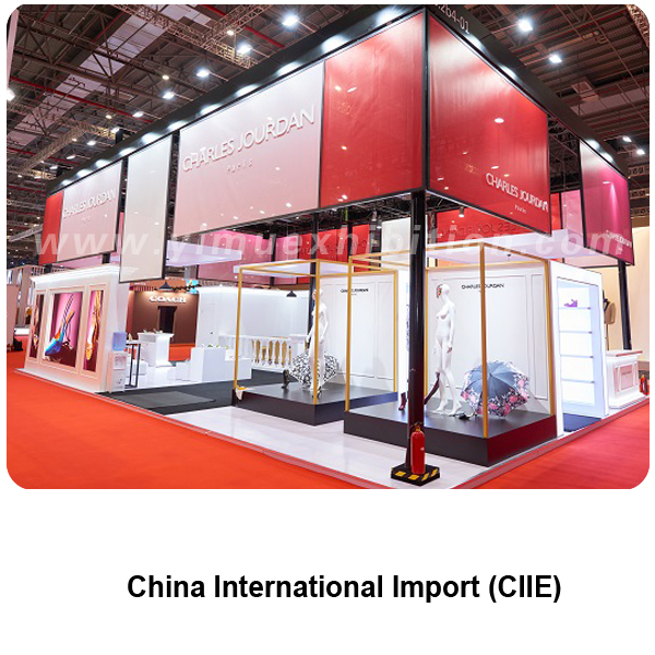 CIIE China stand builder in Shanghai