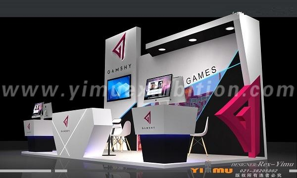 G2E Asia exhibition stand design Macao contractor