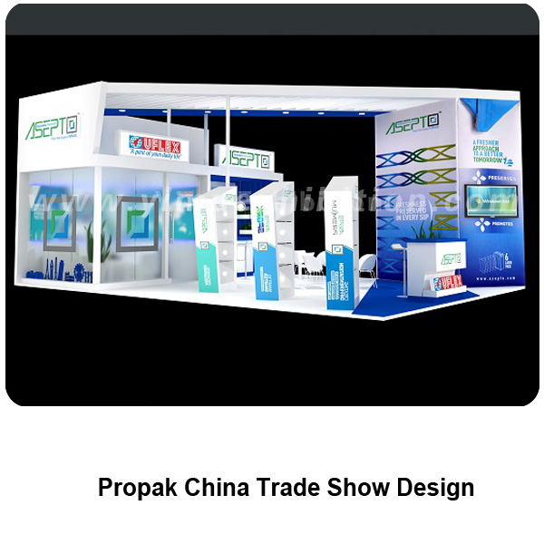 Propak China trade show stand builders