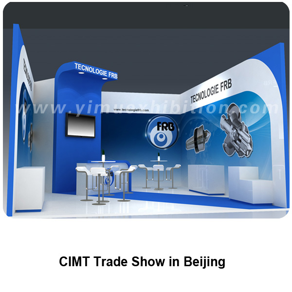 CIMT trade show booth display