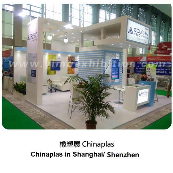 Chinaplas in Shanghai/Shenzhen-exhibition stand builder