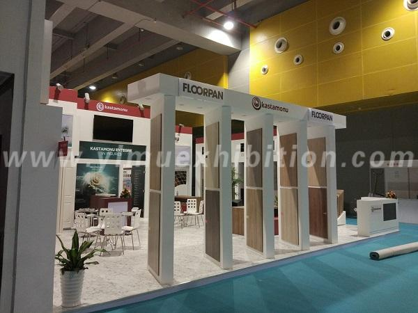 CIFM and Interzum Guangzhou trade show booth design