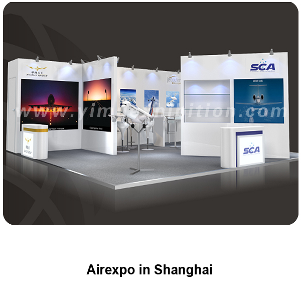 Airexpo shanghai exhibition stand builder